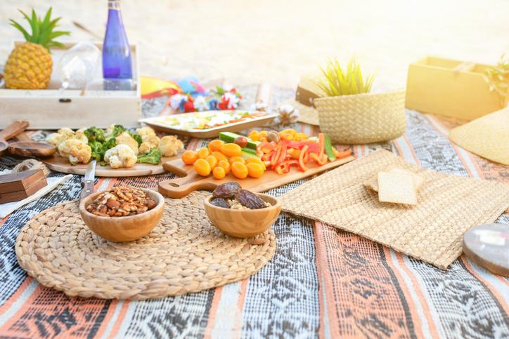mancare picnic
