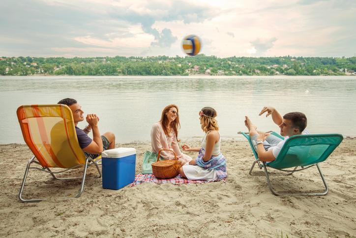 volei la picnic