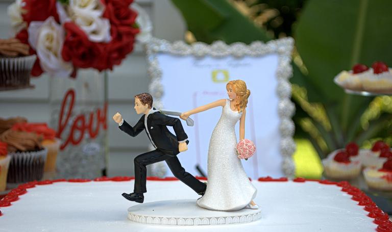 miniaturi tort nunta