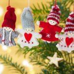 10 ornamente ieftine si originale pentru bradul de Craciun