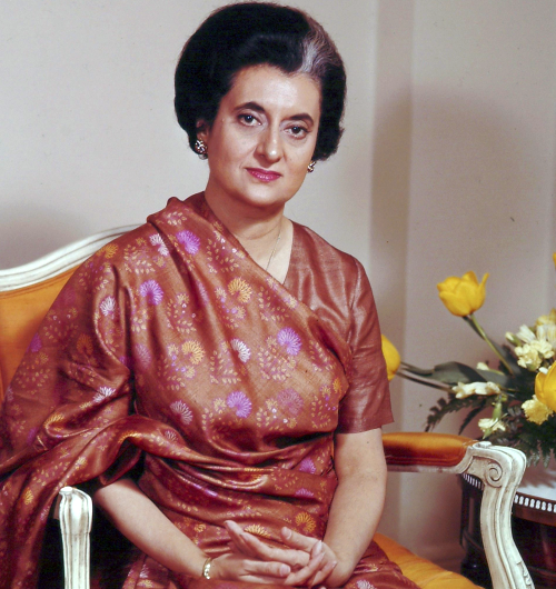 Indira Ghandi - singura femeie prim-ministru al Indiei