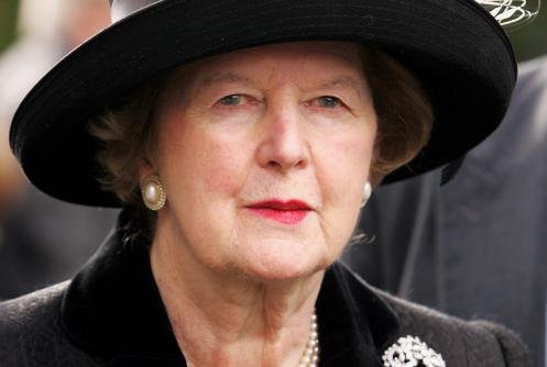 Margaret Thatcher - Doamna de Fier
