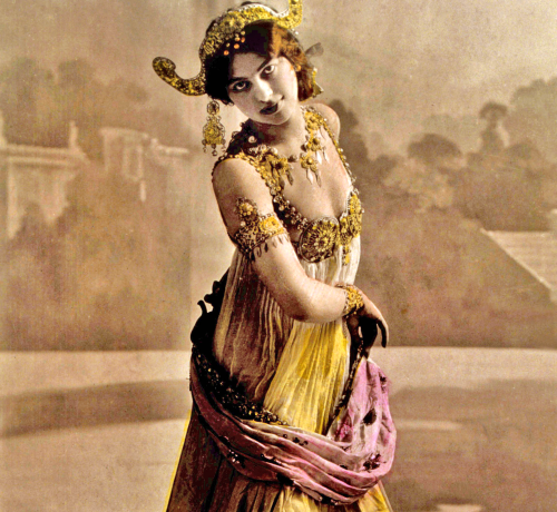 Mata Hari - celebra dansatoare-spion