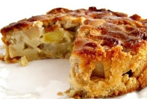 prajitură cu mere