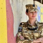 Luptatoare in Afganistan