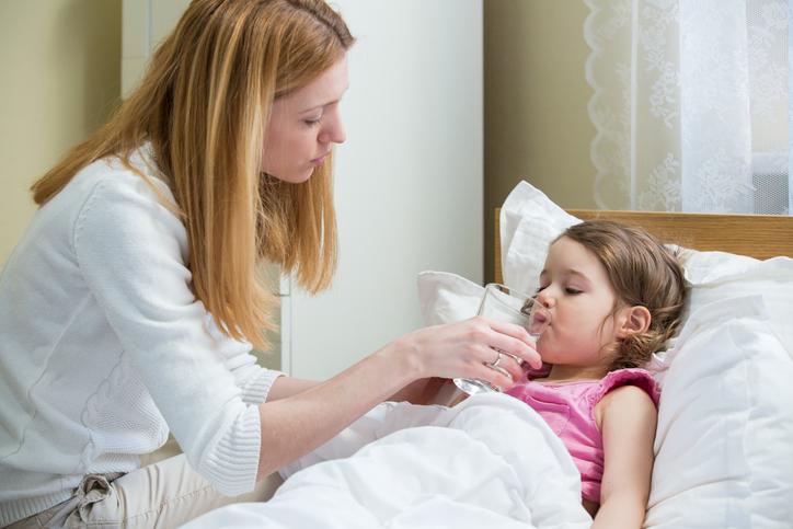deshidratarea la copii