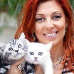 Candice, regina pisicilor de rasă pură