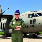 Simona Maierean, pilot pe supersonic