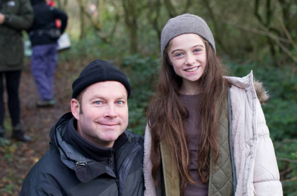 Christopher N. Rowley with Raffey Cassidy4