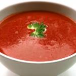 Supaă de roșii din trei ingrediente