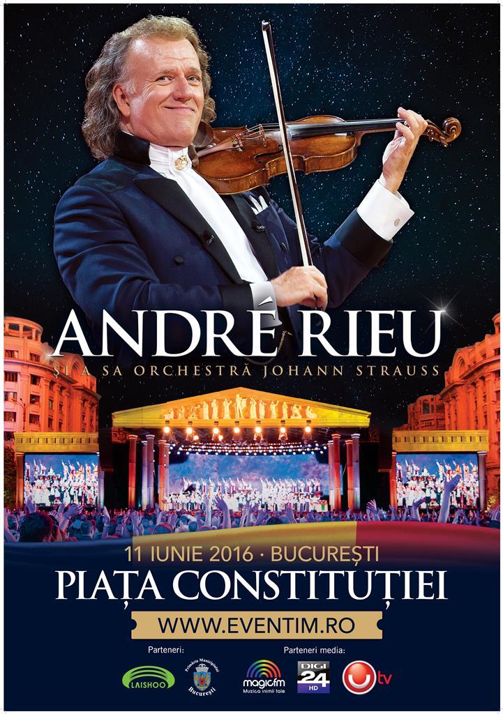 Andre Rieu Bucharest 2016 _Poster