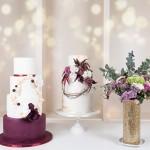 (P) Wedding cake trend: Modern Romance