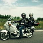 În doi pe motor, în jurul lumii - un proiect 100% românesc