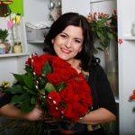 Otilia Caloian: Din dragoste de flori