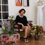 Irina Sandu Plati: Din dragoste de flori