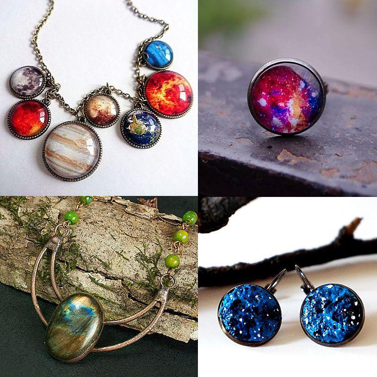 Poza 2 - bijuterii handmade, bijuterii galaxie, cumpara online de pe Breslo.ro