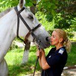 Laura Epuraș (detașamentul de Cavalerie): Locul femeii e acolo unde vrea ea!