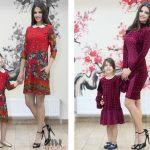 Trendul anului 2017: rochii mamă fiică identice