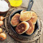 Pâinici cu ceapă și ciuperci (rețetă de post)