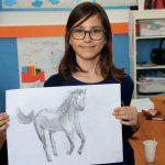 Maria Olteanu Cioată le dezvăluie celor mici înălțarea prin artă