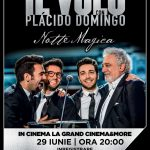 Concert Il Volo, la cinematograf