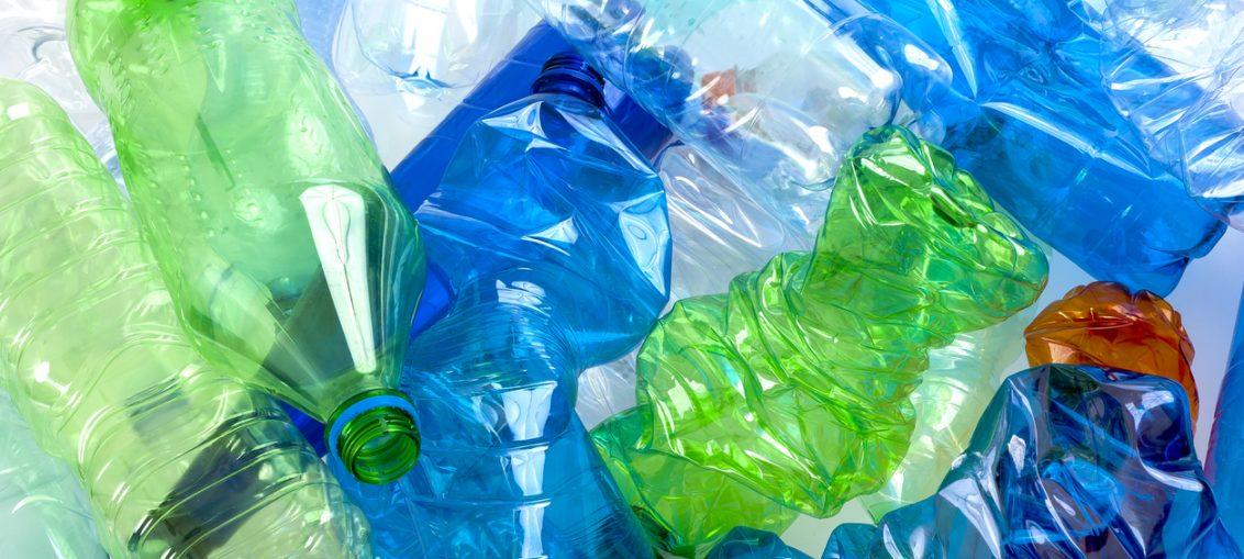 sticle de plastic