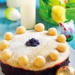 Un desert de neratat: prăjitură cu marțipan, migdale și coacăze
