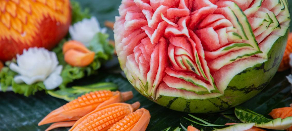 carving de fructe