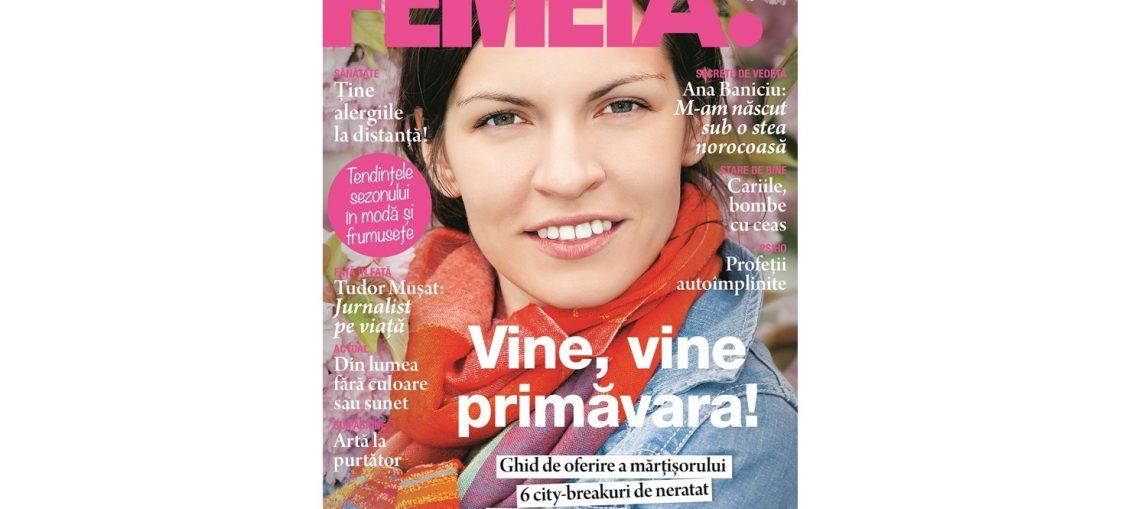 revista femeia martie 2019