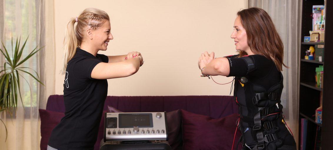 antrenament cu electrozi