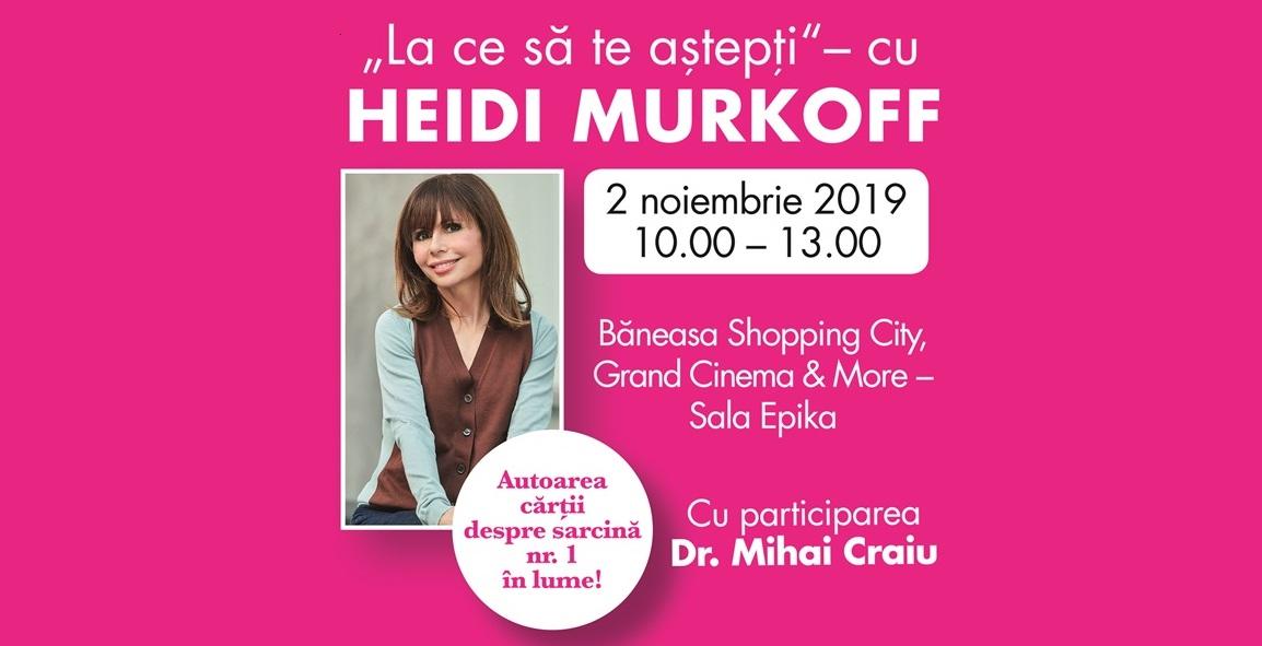 Heidi Murkoff in Romania