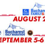 Noile date de desfășurare ale Bucharest FAMILY & 10K și Bucharest HALF MARATHON 2020