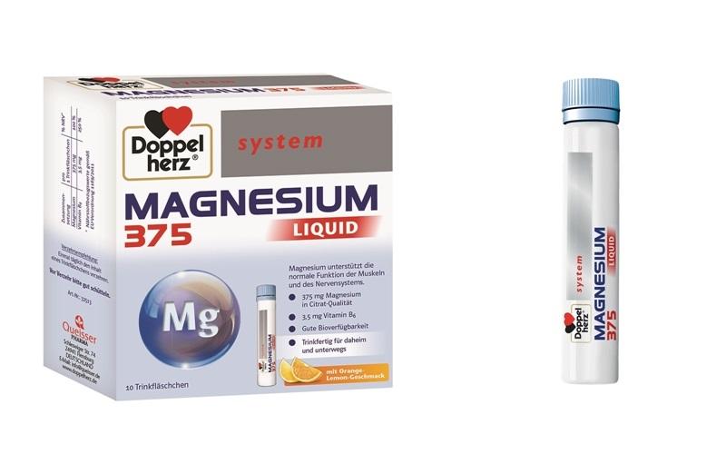 DOPPELHERZ magneziu