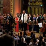 Concerte de muzică clasică în aer liber, în curtea Ateneului Român