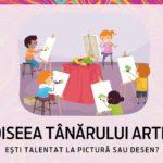 Asociația Odiseea dă startul celui mai mare concurs din țară dedicat micilor artiști