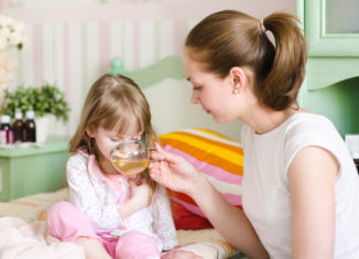 ceai calmant copii