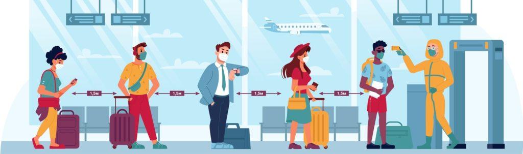 vacanta pandemie covid aeroport