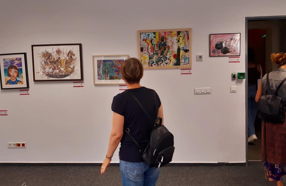 Expoziția Odiseea Tânărului Artist - Art Safari 2020 (1)