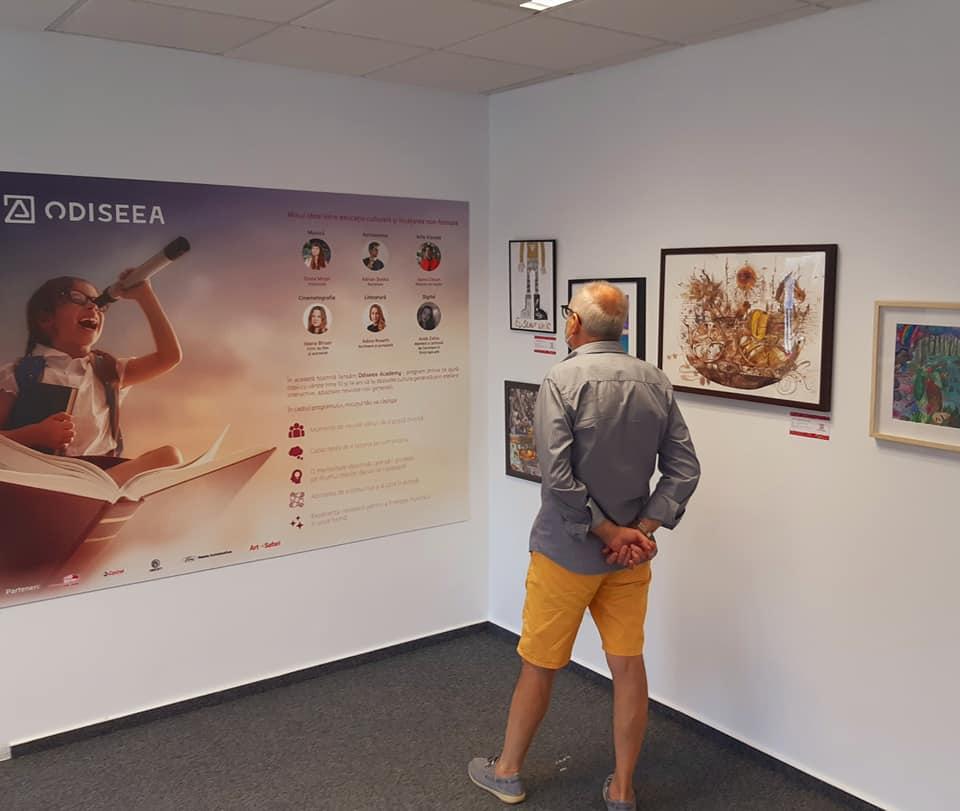 Expoziția Odiseea Tânărului Artist - Art Safari 2020 (2)
