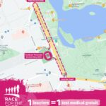 Traseu Race for the Cure Romania 26 septembrie 2021